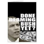 ¿Hecho culpando Bush todavía? Tarjetón
