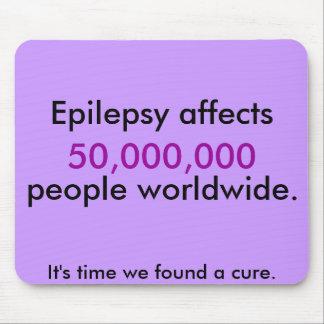 Hecho de la epilepsia alfombrilla de ratón