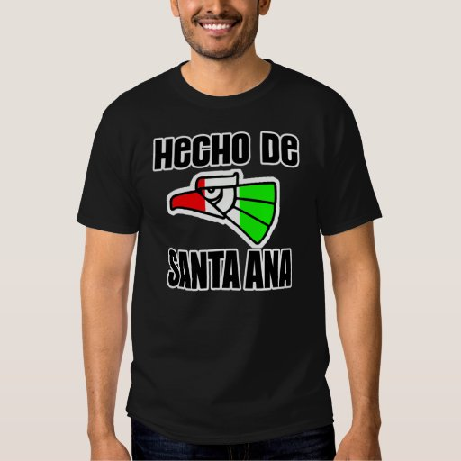Hecho De Santa Ana -- Camiseta Poleras