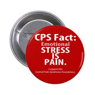 Hecho del CPS La tensión emocional es dolor Pin