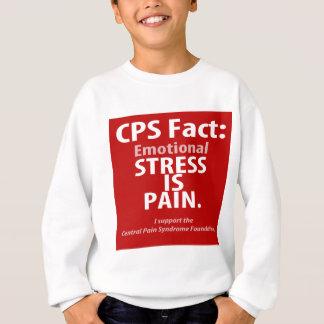Hecho del CPS: La tensión emocional es dolor Sudadera