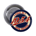 Hecho en 1954 pins