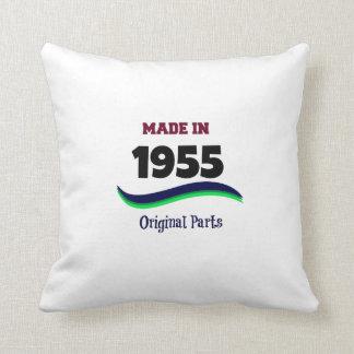 Hecho en 1955, piezas originales almohada
