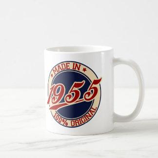 Hecho en 1955 tazas de café