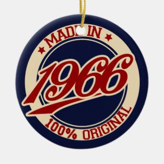 Hecho en 1966 adornos de navidad