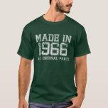HECHO en 1966 toda la camiseta ORIGINAL de las