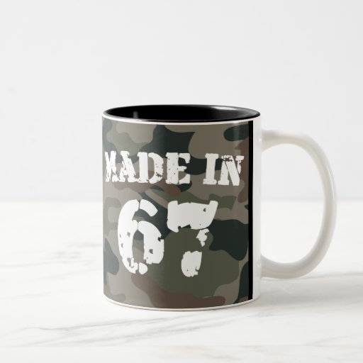 Hecho en 1967 taza de café