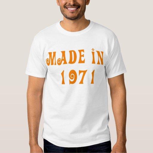 hecho en 1971 remera