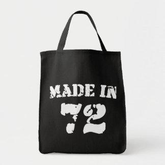 Hecho en 1972 bolsas