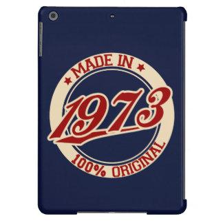 Hecho en 1973 funda para iPad air