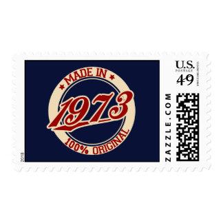Hecho en 1973 sellos postales