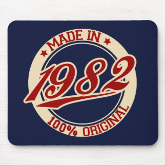 Hecho en 1982 mouse pads
