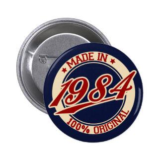 Hecho en 1984 pin