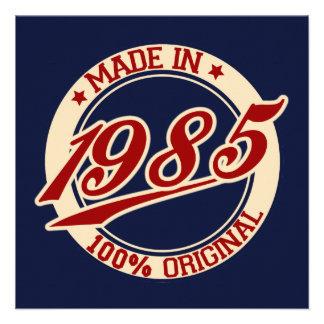 Hecho en 1985 anuncios personalizados