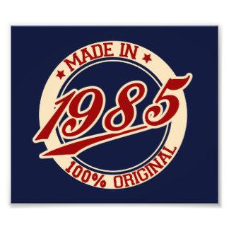 Hecho en 1985 fotografías