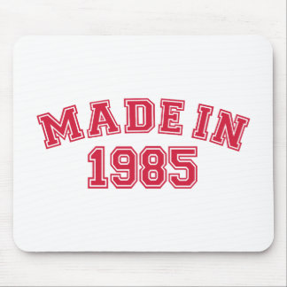 Hecho en 1985 mouse pads
