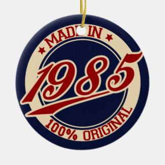 Hecho en 1985 ornamento para reyes magos
