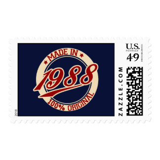 Hecho en 1988 sello