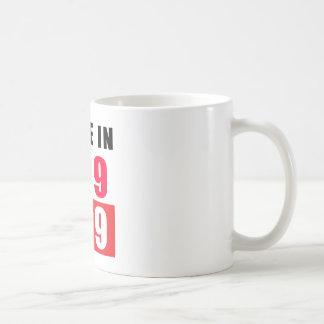 Hecho en 1989 tazas de café