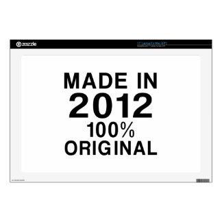 Hecho en 2012 skins para 43,2cm portátiles