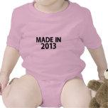 Hecho en 2013 traje de bebé