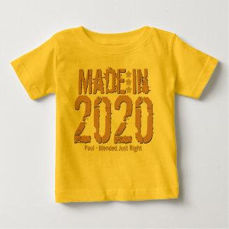 Hecho en 2020 o cualquier ORO y MORENO del texto Tshirt