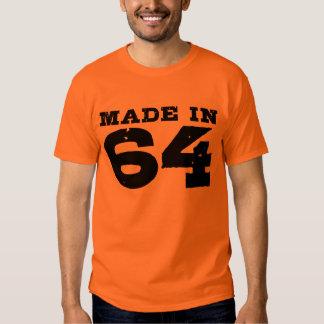 Hecho en 64 camisas