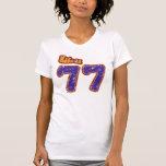Hecho en 77 camiseta