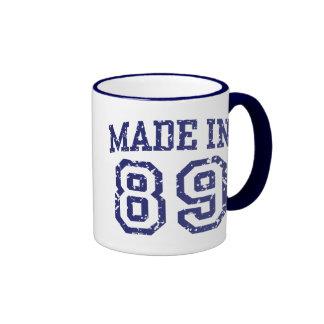 Hecho en 89 tazas de café