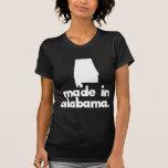 Hecho en Alabama Camisetas