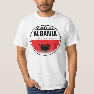 """Hecho en… """"Albania """" Poleras"""