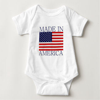 Hecho en América Body Para Bebé