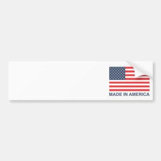 Hecho en América Etiqueta De Parachoque