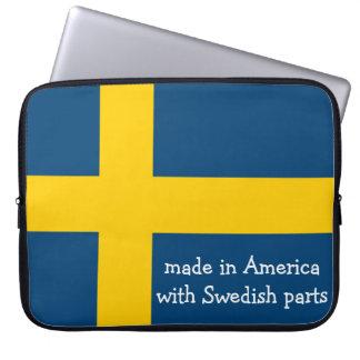 Hecho en América con las partes suecas con la band Funda Computadora
