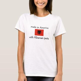 hecho en América con las piezas albanesas Playera