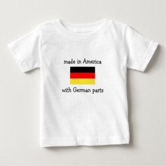 hecho en América con las piezas alemanas Camisas