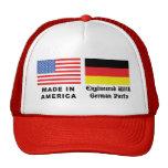 Hecho en América con las piezas alemanas Gorras De Camionero