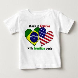 hecho en América con las piezas del brazilin Camisas