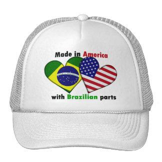hecho en América con las piezas del brazilin Gorras De Camionero