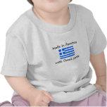hecho en América con las piezas griegas Camisetas