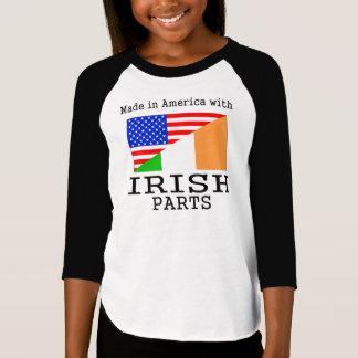 Hecho en América con las piezas irlandesas Polera