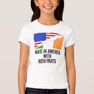 Hecho en América con las piezas irlandesas Remeras