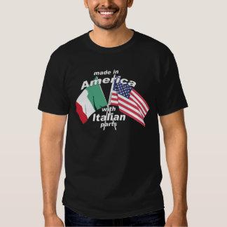 Hecho en América con las piezas italianas Polera