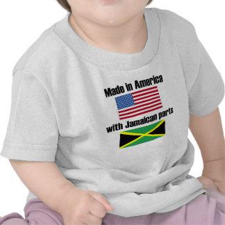 Hecho en América con las piezas jamaicanas Camiseta