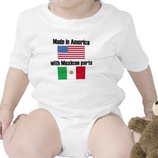 Hecho en América con las piezas mexicanas Trajes De Bebé