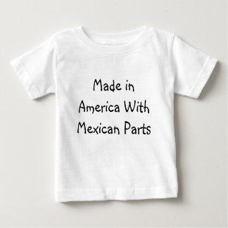 Hecho en América con las piezas mexicanas Remeras