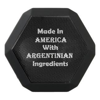 Hecho en América con los ingredientes argentinos Altavoz