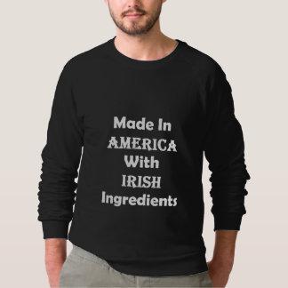 Hecho en América con los ingredientes irlandeses Remeras