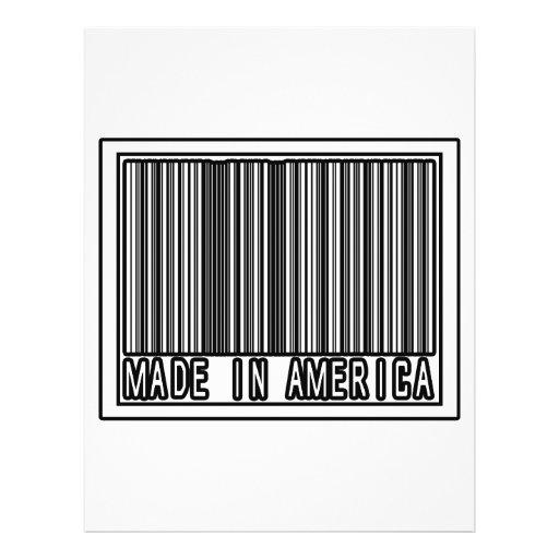 Hecho en América Flyer A Todo Color