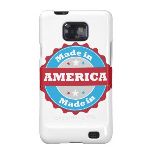 Hecho en América Samsung Galaxy SII Carcasa